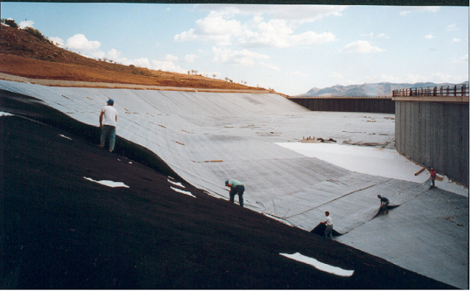 Dams Water Proofing